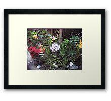 Jamaican Garden Framed Print