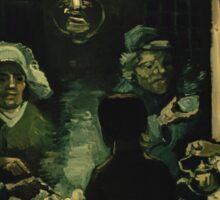 Vincent Van Gogh - The potato eaters 1885 Sticker