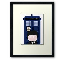 The 2nd Doctor Framed Print
