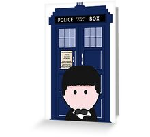 The 2nd Doctor Greeting Card