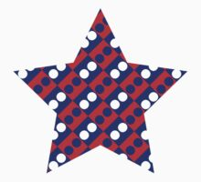 TENERIFE RED & BLUE STAR by dotsnomore