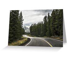 Long Winding Road Greeting Card
