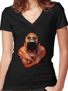 Screamer Women's Fitted V-Neck T-Shirt