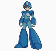Mega Man X by pudgysquirrles