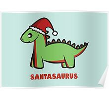 Santasaurus  Poster