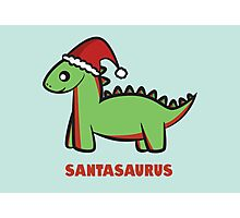 Santasaurus  Photographic Print