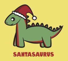 Santasaurus  One Piece - Short Sleeve