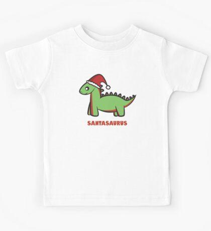 Santasaurus  Kids Tee