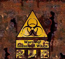 Warning - Industrial Waste! Biohazard! by Brevis