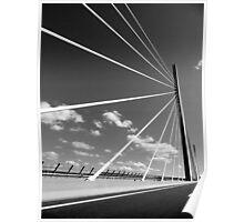 Millau Bridge South France 1 Poster