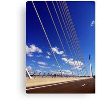 Millau Bridge South France 2 Canvas Print
