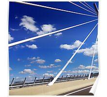 Millau Bridge South France 3 Poster
