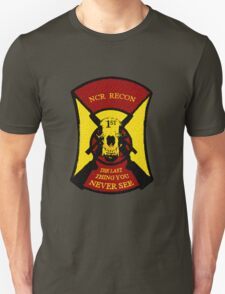 NCR 1st Recon Sticker & Tshirt T-Shirt