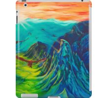 The Eagles Rescue the Dwarves iPad Case/Skin