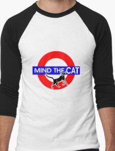 Mind The Cat Men's Baseball ¾ T-Shirt
