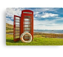 Isle of Rum - Kinloch Canvas Print