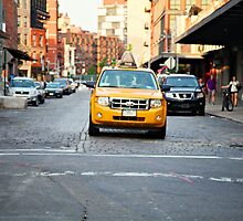 NYC Taxi by anniemgo