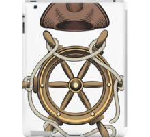 Steering Wheel and Sailor Hat iPad Case/Skin