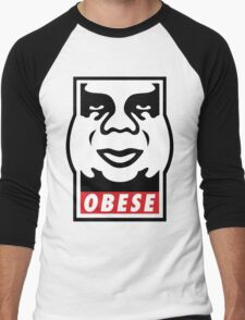 OBESE Men's Baseball ¾ T-Shirt