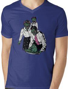 Z-gans Mens V-Neck T-Shirt