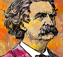 MARK TWAIN by OTIS PORRITT