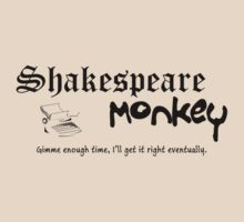 Shakespeare Monkey by Thogek