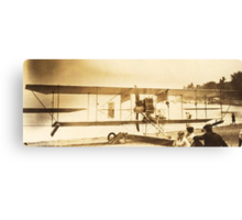 The Flight Of The (Curtiss) Bumble Bee, Chautauqua, NY Canvas Print