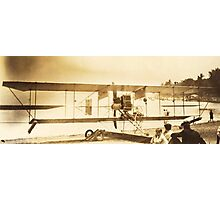 The Flight Of The (Curtiss) Bumble Bee, Chautauqua, NY Photographic Print