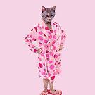 Crazy Cat Lady Phone Case by David Ayala