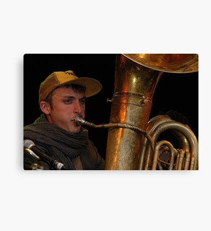 Tuba Skinny, Jazz & Blues Festival, Australia 2011 Canvas Print