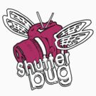 Shutter Bug Pink/White by digihill