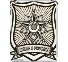 Police Badge iPad Case/Skin
