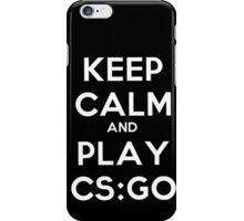 Keep calm and play CS:GO iPhone Case/Skin