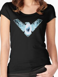Nightwing Electric Women's Fitted Scoop T-Shirt