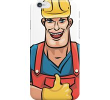 Plumber service iPhone Case/Skin
