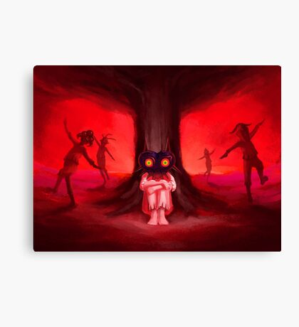 Moon Children Canvas Print