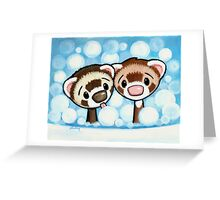 Don't Lick the Bubbles Greeting Card