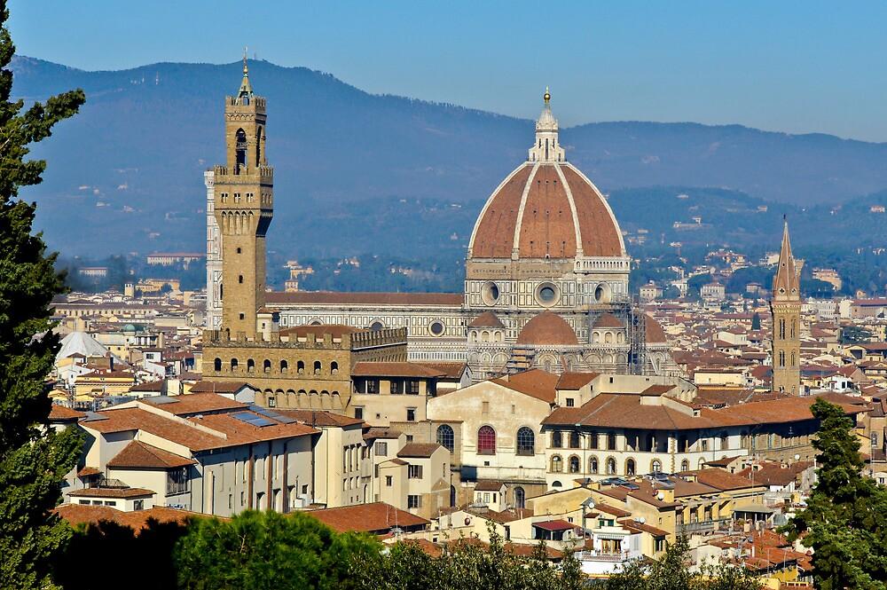 Duomo, florence, Italy by Gary Eason