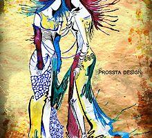 The Twins - Gemini  by prossta
