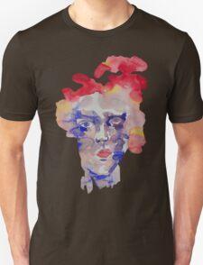 Face watercolor Unisex T-Shirt