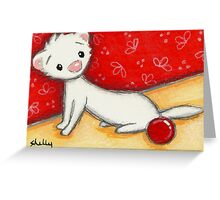 Hello Ball Greeting Card