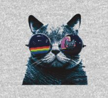 Limited Edition Hipster Cat NEW by EJoseph