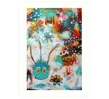 Dreaming Owl Art Print