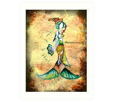Pisces - The Fishes Art Print