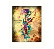 Sagittarius - The (Centaur) Archer Art Print