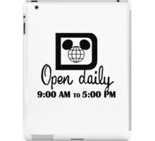 Open Daily iPad Case/Skin