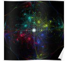 Galactic Coordinates Poster