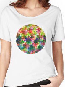 Floral Carpet  Women's Relaxed Fit T-Shirt