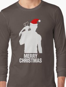 Daryl Dixon Christmas Design (Light) Long Sleeve T-Shirt