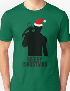 Daryl Dixon Christmas Design (Dark) Unisex T-Shirt